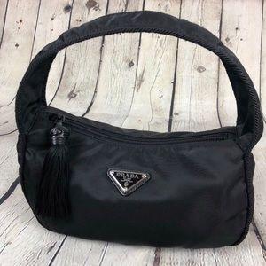 New Genuine Prada Nylon Hobo Shoulder Bag
